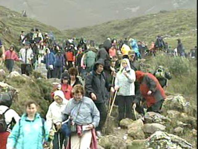 Mayo - 18,000 climb Croagh Patrick