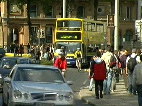 College Green - Restricted access