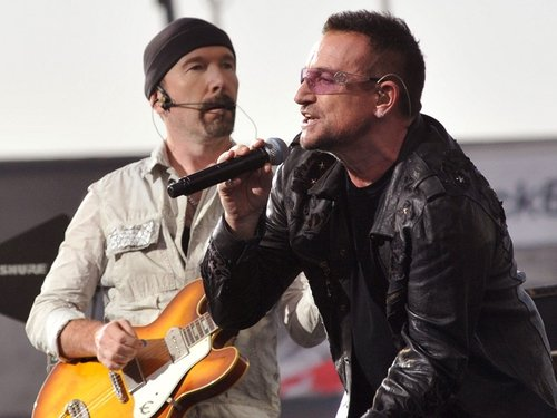U2 - Bono and The Edge in Croke Park this summer