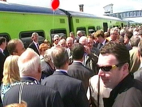 Train - New service begins