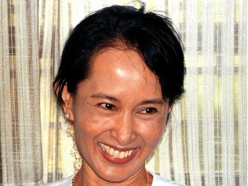 Aung San Suu Kyi - Faces up to five years in jail