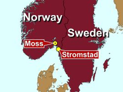Sweden - Norwegian ship sinks with crew of six