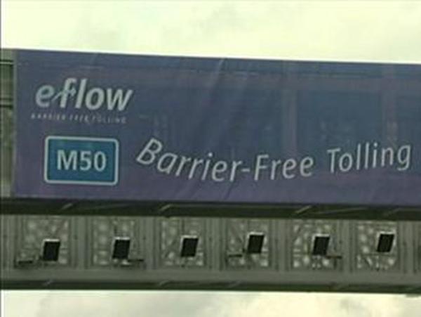 M50 - Barrier-free tolls
