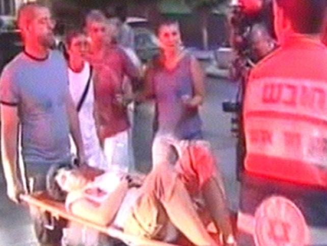 Tel Aviv - 15 wounded in gun attack