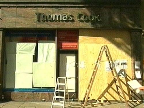Thomas Cook - Grafton Street branch closed