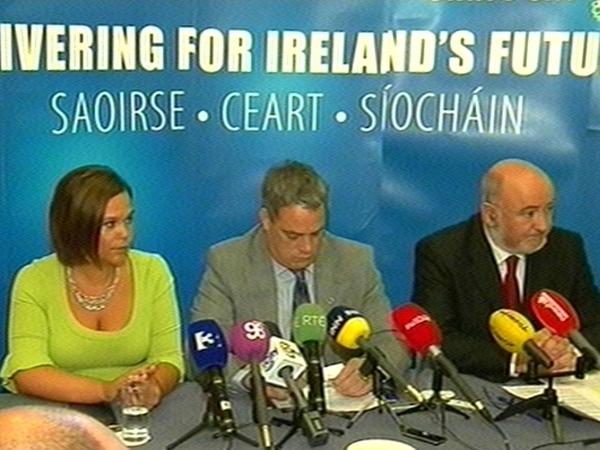 Sinn Féin - Lisbon No campaign launched