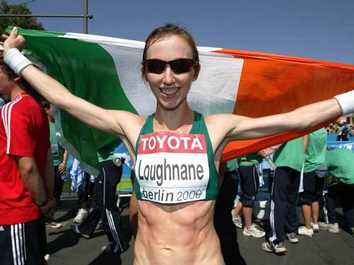Olive Loughnane recorded a season's best time in the 20k walk in Berlin