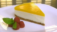 Lemon and Mango Cheesecake - A tempting dessert from Neven Maguire.
