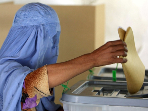 Afghanistan - Millions voted yesterday