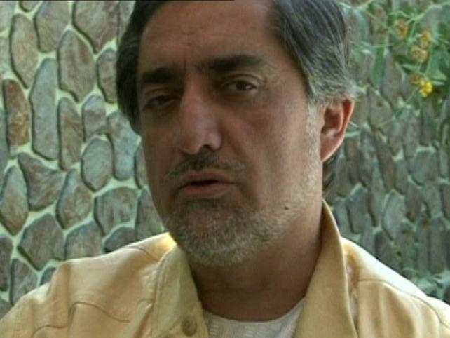 Abdullah Abdullah - Claiming victory