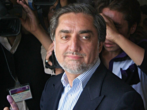 Abdullah Abdullah - Claims of violations during election