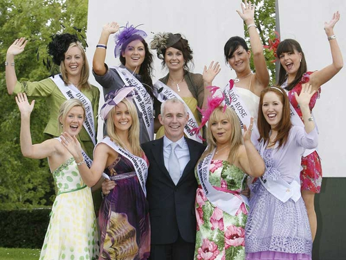 Ray D'Arcy pictured with some of last year's roses