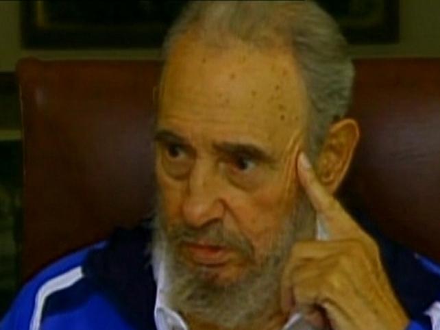 Fidel Castro - Met with students from Venezuela