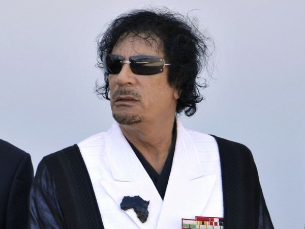 Muammar Gaddafi - Call for compensation for IRA victims