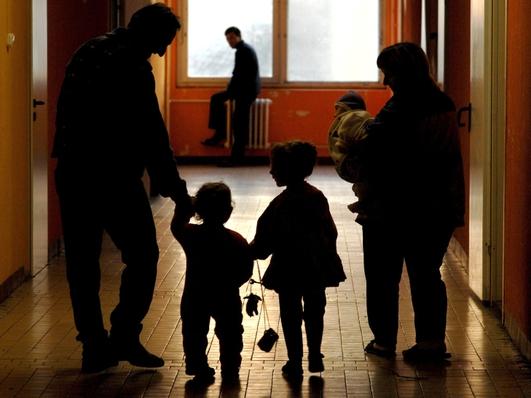 Separated migrant children