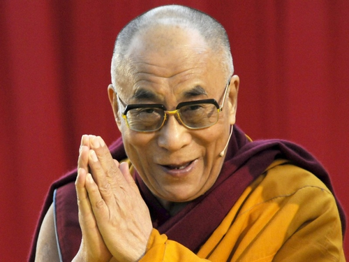 Dalai Lama - Wants to comfort survivors of typhoon