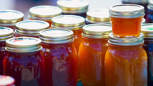 Apricot and Vanilla Jam