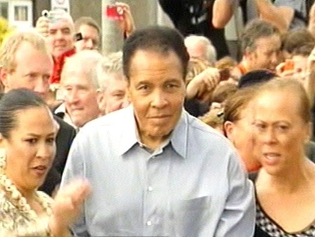Muhammad Ali - Honorary Freeman of Ennis