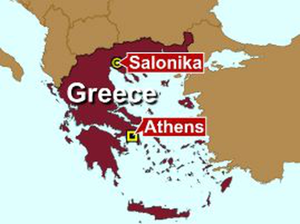 Greece - Explosions in Athens & Salonika