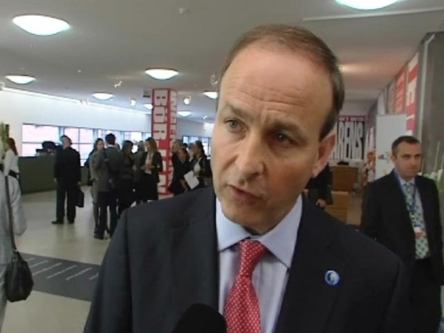 Micheál Martin - Will discuss immigration reform in Washington