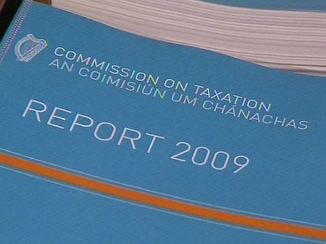 Commission on Taxation - Report published today