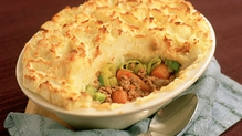 Homemade Cottage Pie with Cheesy Mash