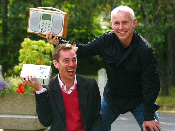 Ryan Tubridy & Ray D'Arcy - celebrate radio figures