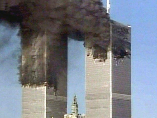 11 September - World Trade Center attacked