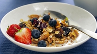 Berry Nice Granola - Great for breakfast - or any time.