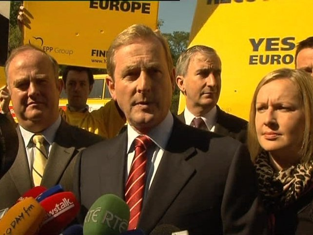 Enda Kenny - Urging people to put country first