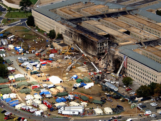 11 September - Plane struck the Pentagon