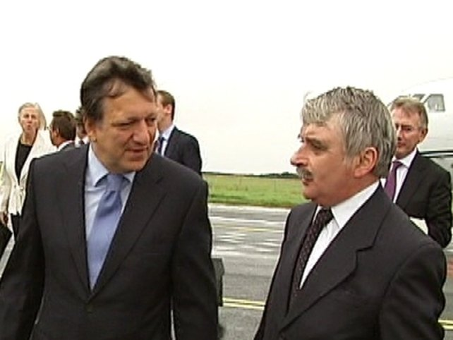 Barroso & O'Dea - Met at Shannon Airport