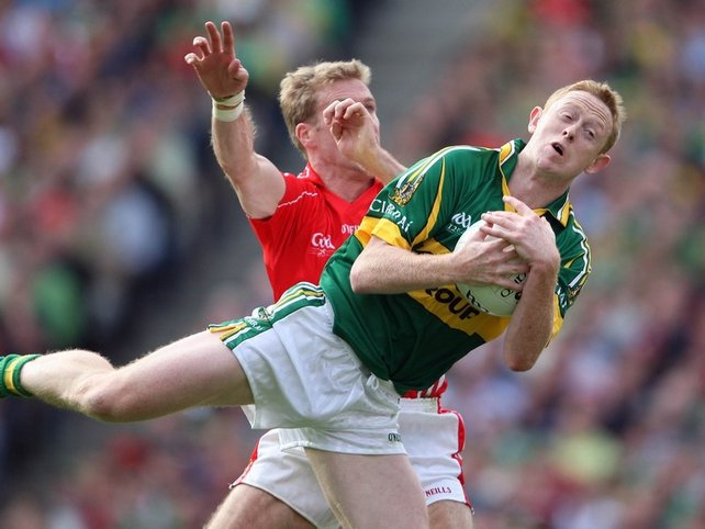Colm Cooper's accuracy from placed balls was vital for Kerry