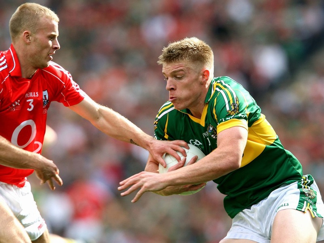Kerry's Tommy Walsh was a menace to the Cork defence all afternoon