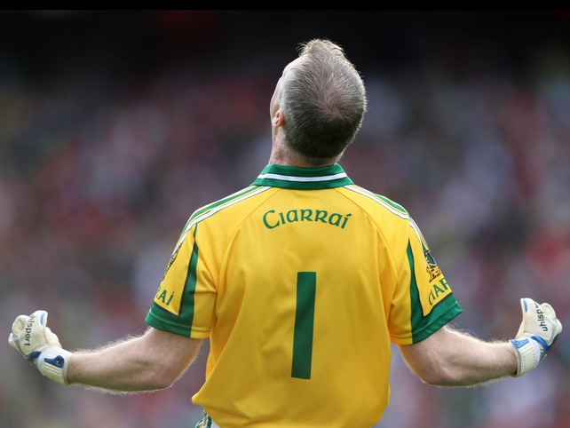 Kerry goalkeeper Diarmuid Murphy enjoys The Kingdom's victory