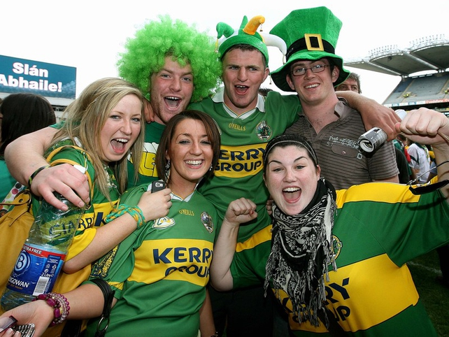 Kerry fans can't contain their joy at yet another All-Ireland final success