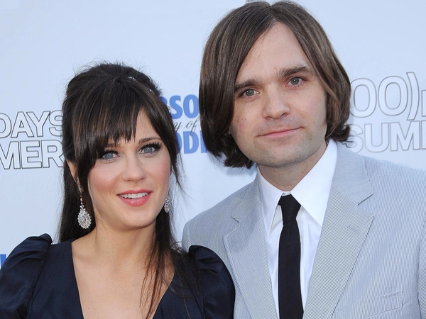 Deschanel and Gibbard - Got engaged last year