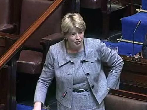 Mary Coughlan - Questions on public sector cuts
