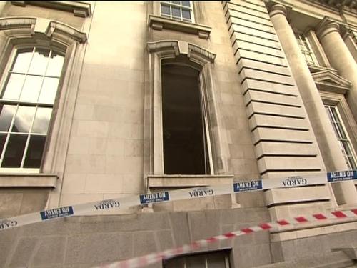 Dept of Finance - Gardaí investigate attack