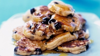 Lemon and Blueberry Pancakes - What weekends are all about.