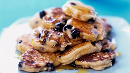Lemon and Blueberry Pancakes: Kevin Dundon