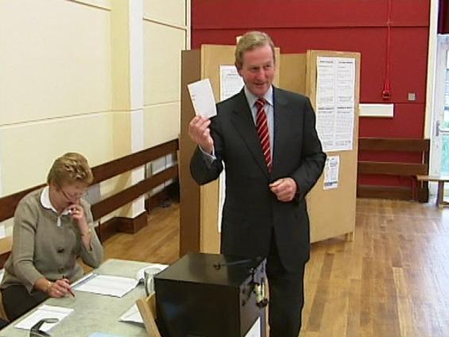 Enda Kenny - FG leader voted in Castlebar