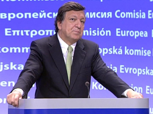 José Manuel Barroso - Guarantees given by Europe to Ireland played a significant role