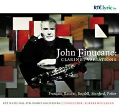 John Finucane: Clarinet Variations