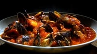 Mussel and Tomato Stew - This sauce is really the dish. You could use it with pasta or with any white fish but here we use mussels