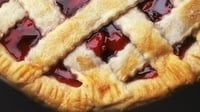 Lattice Deep Dish Fruit Pie - A hearty pie that can be enjoyed hot or cold!