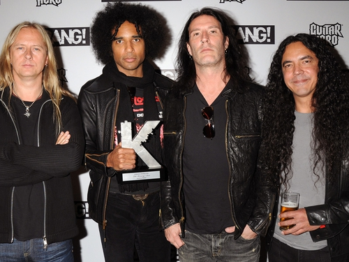Alice in Chains (l-r): Jerry Cantrell, William DuVall, Sean Kinney and Mike Inez