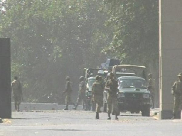 Rawalpindi - Tightly-guarded army headquarters