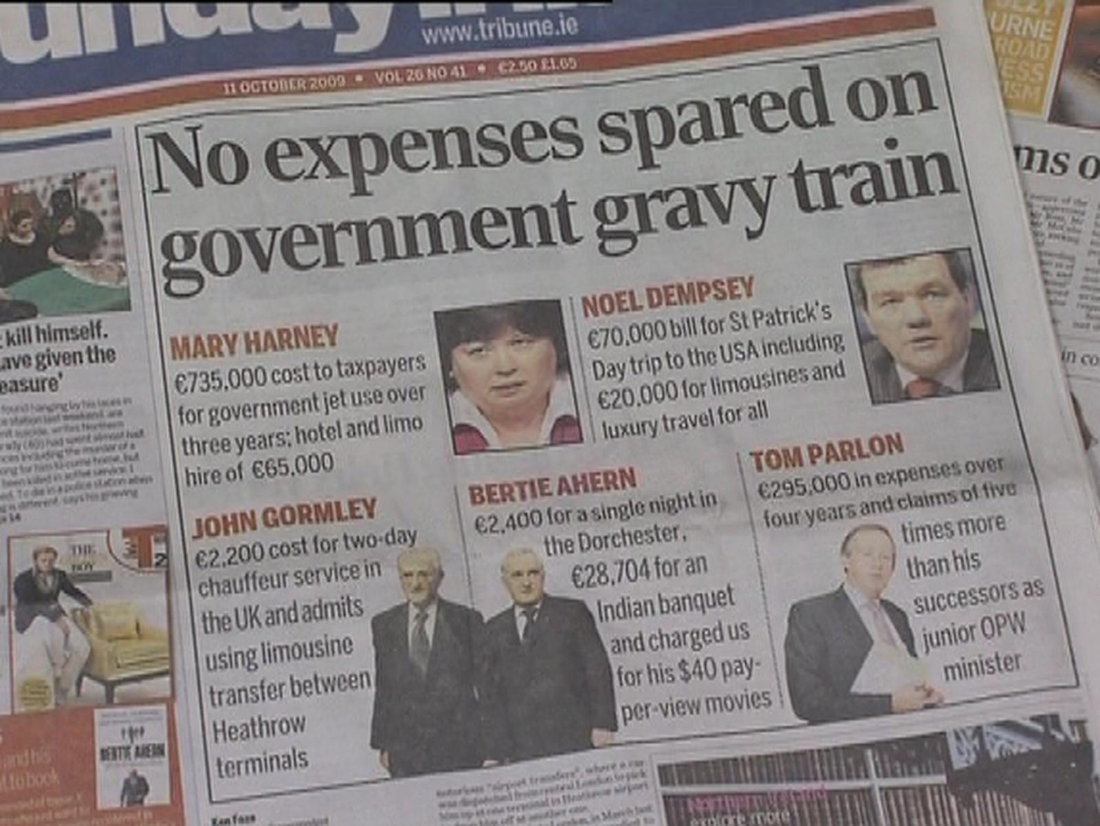 Govt again promises expenses reform