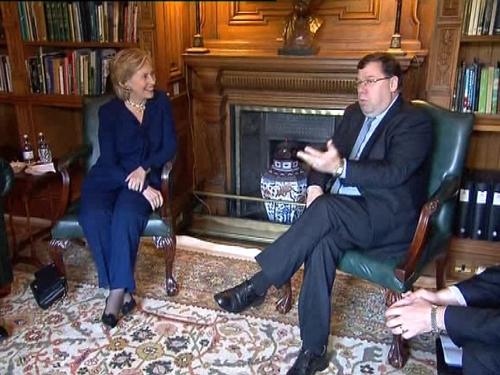 Clinton & Cowen - Talks at Farmleigh